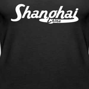 Shanghai China Vintage Logo - Women's Premium Tank Top