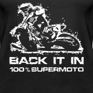 Back it in Supermoto - Women's Premium Tank Top