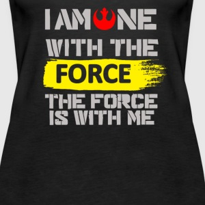 One With The Force Rogue One Chirrut - Women's Premium Tank Top