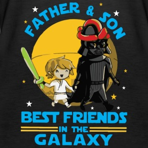 Father and Son Best Friend in the Galaxy - Women's Premium Tank Top