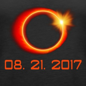 Total Solar Eclipse Summer August 21st 2017 - Women's Premium Tank Top