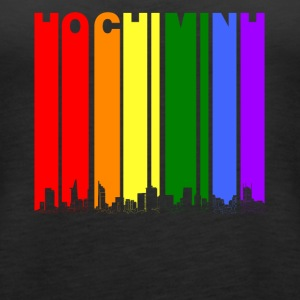 Ho Chi Minh Skyline Rainbow LGBT Gay Pride - Women's Premium Tank Top