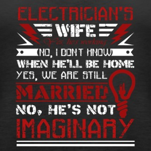 Electrician Wife Shirt - Women's Premium Tank Top
