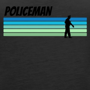 Retro Policeman - Women's Premium Tank Top