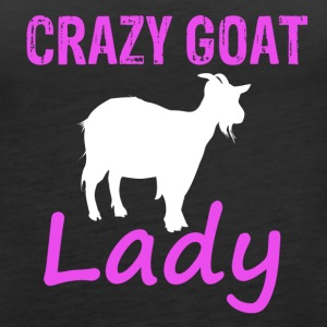 Cool Goat lady - Women's Premium Tank Top