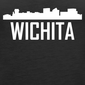 Wichita Kansas City Skyline - Women's Premium Tank Top