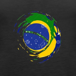 brazil flag design - Women's Premium Tank Top