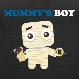 MUMMY'S BOY - Women's Premium Tank Top
