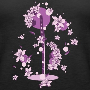 Sakura - Katana Japan - Women's Premium Tank Top