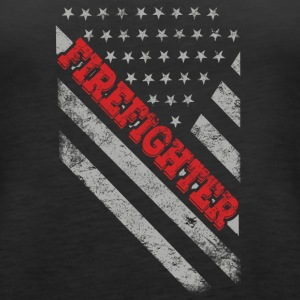 Firefighter Flag - Women's Premium Tank Top
