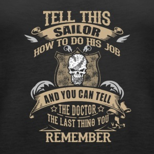 sailor - Women's Premium Tank Top