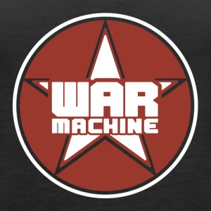War Machine Star - Women's Premium Tank Top