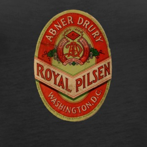ABNER DRURY VINTAGE BREWERY BEER LABEL SHIRT - Women's Premium Tank Top