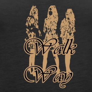 walk way - Women's Premium Tank Top