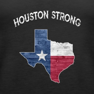 Houston Strong State of Texas Flag T Shirt - Women's Premium Tank Top