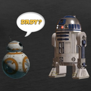 BB8 R2D2 Are you my dady? - Women's Premium Tank Top