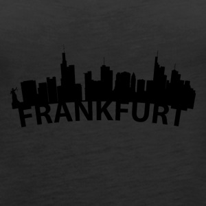 Arc Skyline Of Frankfurt Germany - Women's Premium Tank Top