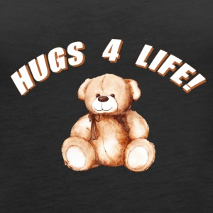 Hugs 4 Life Design - Women's Premium Tank Top