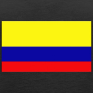 colombia flag 121244963 - Women's Premium Tank Top