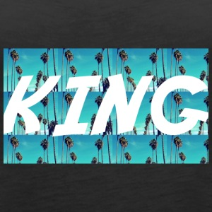 KING - Women's Premium Tank Top