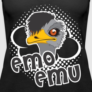 EMO EMU SHIRT - Women's Premium Tank Top