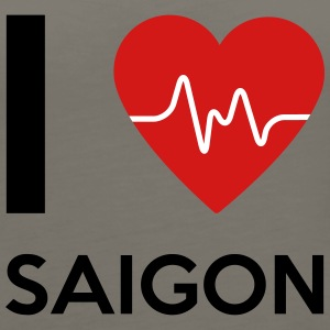 I Love Saigon - Women's Premium Tank Top