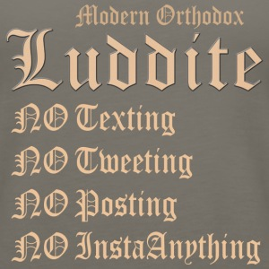 Modern Orthodox Luddite A1 T Shirt - Women's Premium Tank Top