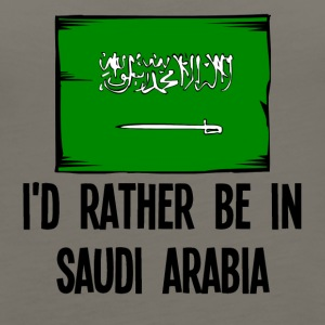 I'd Rather Be In Saudi Arabia - Women's Premium Tank Top