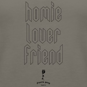 HOMIE LOVER FRIEND - Women's Premium Tank Top
