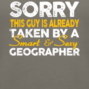 Smart And Sexy Geographer T Shirt - Women's Premium Tank Top