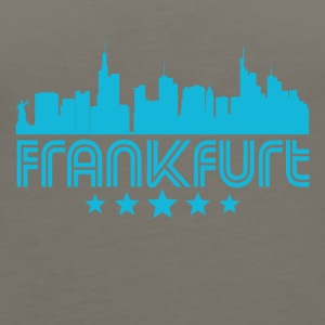 Retro Frankfurt Skyline - Women's Premium Tank Top