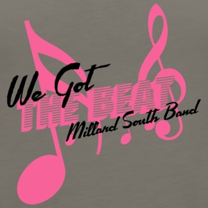 We Got The Beat Millard South Band - Women's Premium Tank Top