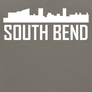 South Bend Indiana City Skyline - Women's Premium Tank Top