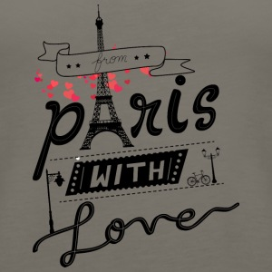 from paris with love - Women's Premium Tank Top