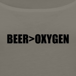 BEER>OXYGEN - Women's Premium Tank Top