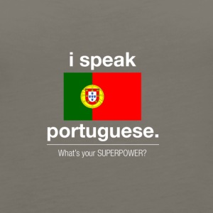 SUPERPOWER portuguese - Women's Premium Tank Top