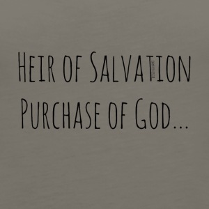 Heir of Salvation Purchase of God - Women's Premium Tank Top