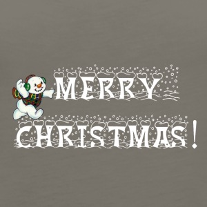 Merry christmas - Women's Premium Tank Top