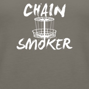 Chain Smoker - Women's Premium Tank Top