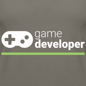 Game Developer T Shirt - Women's Premium Tank Top