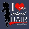 Love Natural Hair (Afro) - Women's Premium Tank Top