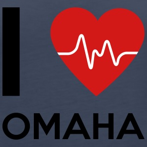 I Love Omaha - Women's Premium Tank Top