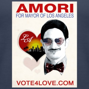 Amori for Mayor of Los Angeles eco friendly shirt - Women's Premium Tank Top