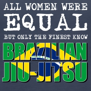 Brazilian Jiu jitsu design - Women's Premium Tank Top