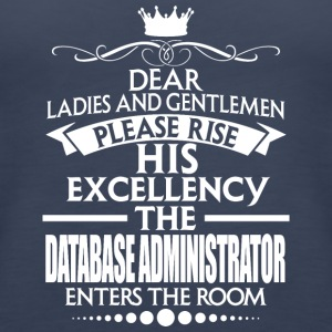 DATABASE ADMINISTRATOR - EXCELLENCY - Women's Premium Tank Top