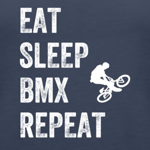 Eat sleep bmx repeat - Women's Premium Tank Top