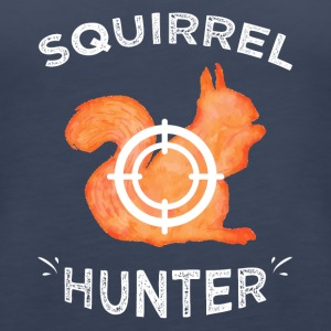 Squirrel hunter - Women's Premium Tank Top