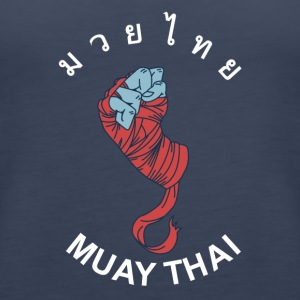 MUAY THAI - Wrapped Fist - Women's Premium Tank Top