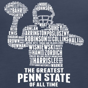 THE GREATEST PENN STATE OF ALL TIME - Women's Premium Tank Top