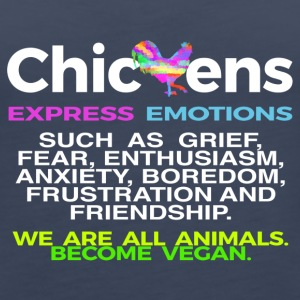 CHICKENS EXPRESS EMOTIONS - Women's Premium Tank Top